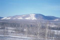シベリア鉄道車窓風景