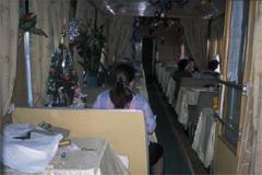 シベリア鉄道食堂車