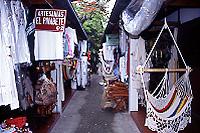 サンサルバドル民芸品店