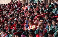 笑顔のペルーの子供達