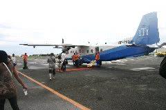 エルニド行き飛行機