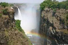 ビクトリア滝 (ジンバブエ側)