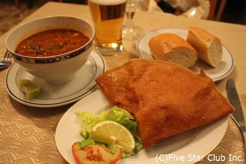 チュニジア料理 ブリック