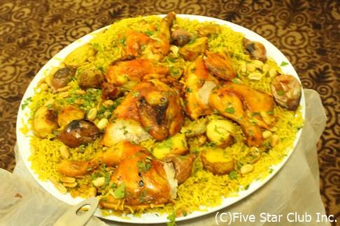 ヨルダンの家庭料理