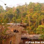 少数山岳民族ラフー族の村へ泊まる・トレッキングの旅<タイ>