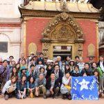 赤のカトマンズ、青のポカラ。2012社員旅行ネパールB班