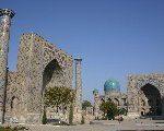 イスラムの青い都  ウズベキスタン ~満腹ツアー