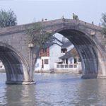 中国長江下流域 江南水郷地帯を行く