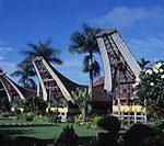 伝統家屋トンコナンハウスを目指し いざスラウェシ島へ~インドネシア~