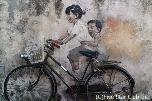 ~ストリートアートで息を吹き返したペナン島ジョージタウンで『フォト・ジェニック・スポット』を探す!~