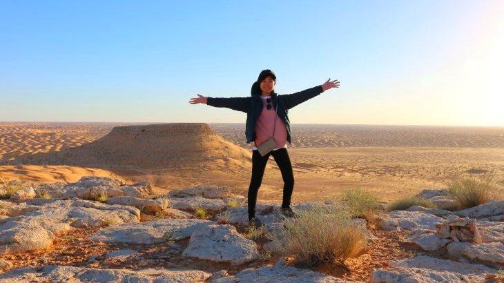 砂漠の奥地で星の降る空☆砂漠のオアシスと白い街…チュニジア満喫の旅